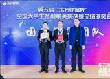 滁州学院师生受邀参加全国大学生金融精英挑战赛颁奖会