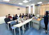 宿州学院主题党日搭平台课程育人显教学风采