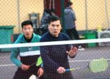 亳州工业学校举行羽毛球比赛丰富教职工精神文化生活