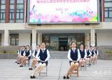 亳州幼儿师范学校学生社团展风采秀才艺