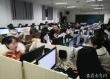淮北卫校开展全国首批失智老人照护1+X职业技能认证考试