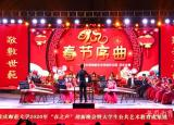 安庆师范大学举办春之声迎新晚会暨大学生公共艺术教育成果展