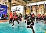 黄山学院在2019年中国轮滑球联赛总决赛中获得亚军
