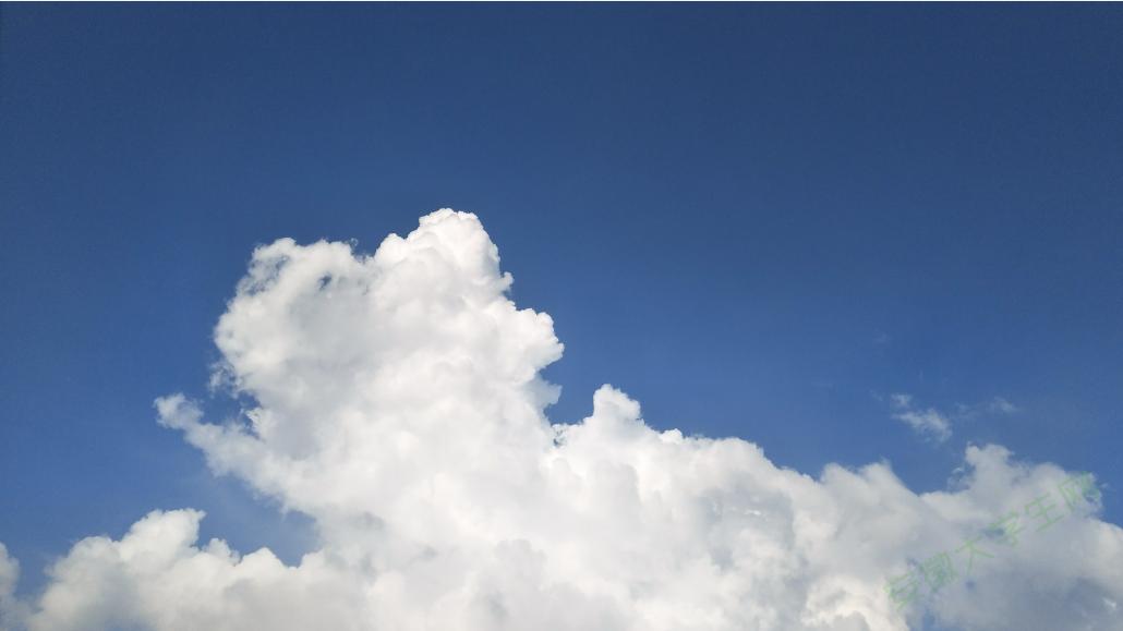 只有云知道 天空的思念