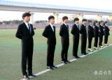 亳州工业学校礼仪部换新装迎新年