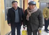 亳州中药科技学校冒雪送温暖情系贫困户
