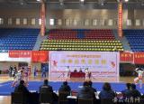 2019年安徽省学生体育联赛中学生武术比赛在阜阳师范大学举行