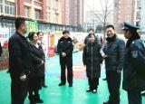 安徽省公安厅检查组到亳州幼师附属幼儿园检查内部安全保卫工作