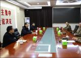 滁州学院春节前夕走访慰问共建部队
