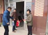 铜陵市中职中心开展冬日暖阳走访慰问活动