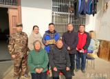 辗转数千里冒雪送温暖滁州城市职业学院走访慰问应征入伍大学生家庭