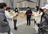安财学子赴蚌埠文化博物馆进行实地调研和采访