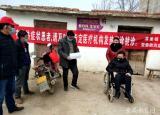 六安职业技术学院高职扩招学生贾本辉坐着轮椅战役情不怕困难冲在前
