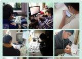 芜湖高级职业技术学校班主任做阻击疫情中空中班级的坚守者