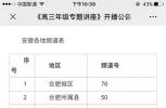 速看!安徽省教育厅刚刚发布!事关高考!