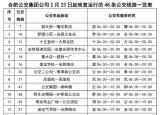 合肥公交发布85条公交线时刻表 将实施定点+机动方式测温