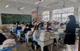 马鞍山工业学校返校复课第一天安全平稳有序