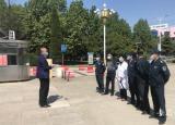淮南师范学院开展2020春季学期学生错峰返校报到应急演练