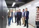 安庆师范大学检查智慧校园项目建设工作