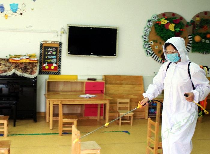 亳州幼师附属园:实战演练迎复学,科学布防待开园