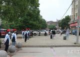 安庆皖江中等专业学校志愿者服务学生返校复课暖人心