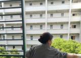 铜陵职业技术学院隔空接单暖心迎接学生返校