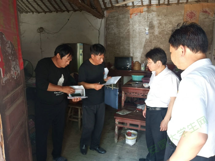 亳州工业学校党员干部:周末走访贫困户,确保问题见底清零