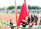 亳州工业学校复学首次升旗,校长寄语做最好的自己