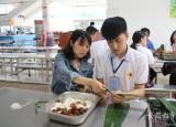 品味端午滁州市信息工程学校举行端午节包粽子活动