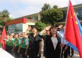 亳州十九里中心小学:建党节致敬光荣院 重温红色记忆