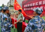 宿州应用技术学校国防后备班参加人武部征兵宣传进校园活动