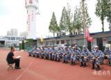 宿州应用技术学校教官队开展专项集训活动