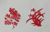 安徽师大学子与剪纸续前缘:红剪红纸剪红心,团花簇簇似暖霞