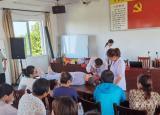 安庆皖江中等专业学校养老护理员专业技能培训班开班
