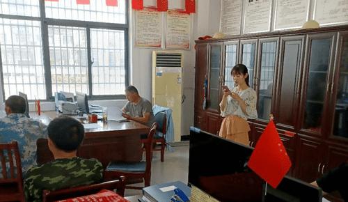 """""""脱贫政策及洪灾地区经济扶助宣讲实践团""""走进三河木兰社区"""