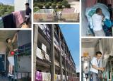 全员参与温暖到家阜阳师范大学组织辅导员为学生晾晒公寓物品