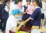 安庆皖江中等专业学校开展结核菌素试验筛查工作营造健康和谐的教育环境