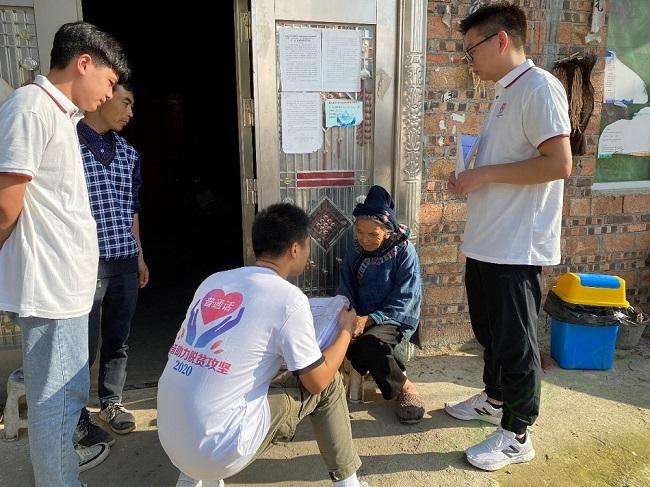 推普志愿者走进苗乡,搭建民族友谊交流之桥