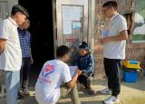 安徽工大推普志愿者走进苗乡,搭建民族友谊交流之桥