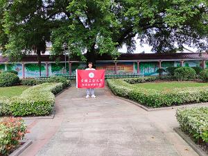 安徽工业大学:重回母校 助力高三毕业生