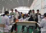芜湖高级职业技术学校人文关怀融入学生健康体检中