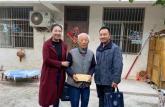 亳州幼儿师范学校走访慰问老教师重阳表达敬老情