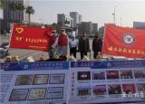 安徽科技贸易学校参加蚌埠市职教活动周便民志愿服务职业技能展示活动