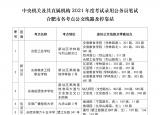 通知!2021年国考明日开考 合肥21所考点公交线路及停靠站发布