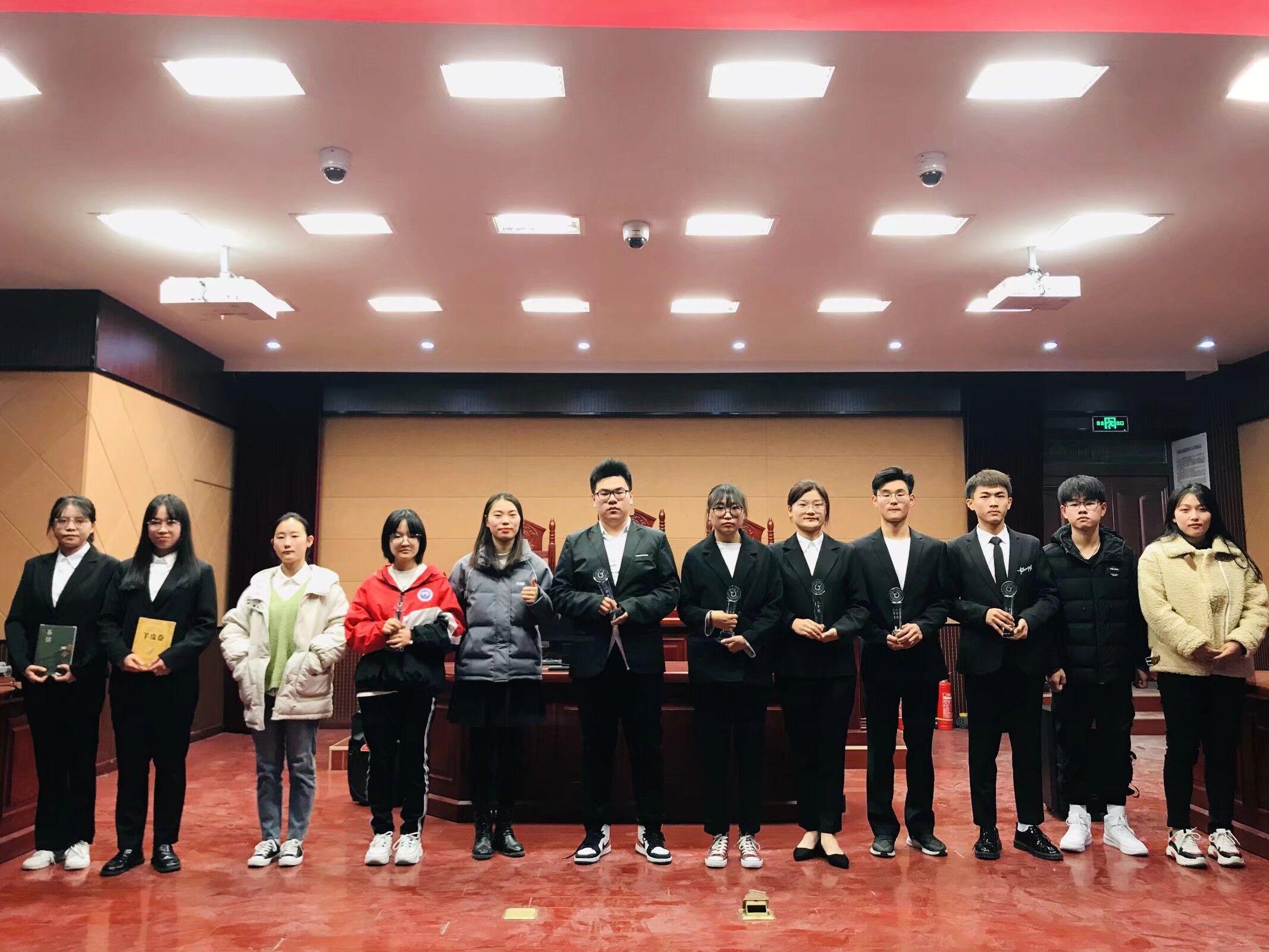 经法青协参与志愿精神演讲活动