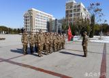 蚌埠学院组织开展民兵整组训练