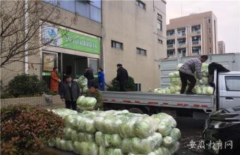 安徽科技贸易学校面向采购扶贫农产品