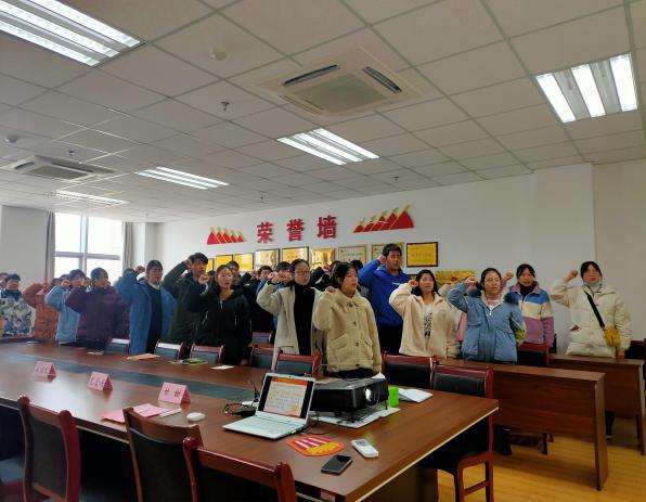 化材学院青年志愿者协会开展第十五届青协成立大会暨期末总结大会