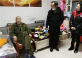 芜湖高级职业技术学校党组织开展走访慰问活动