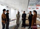 黄山学院看望慰问备战第46届世界技能大赛国家集训队学子